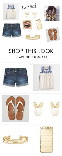 """""""Casual"""" by hannahgabby on Polyvore featuring J.Crew, American Eagle Outfitters, Lipsy, Stella & Dot and Michael Kors"""