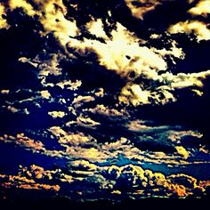 Edited picture of clouds!