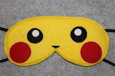 Pikachu inspired sleep mask https://www.etsy.com/listing/259483530/pikachu-sleep-mask-eye-mask?ref=shop_home_active_1