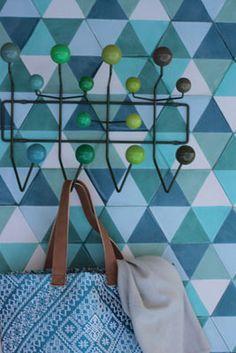 Golv- popham design :: gallery hex zulu in multi greens