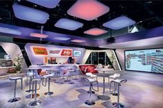 """At the 2012 National Association of Convenience Stores in Las Vegas, MC2 created a """"Convenience Store of the Future"""" for the Hershey Company... Photo: Proto Photography"""