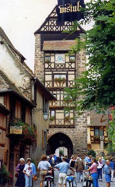 Attractive Alsace http://www.travelandtransitions.com/european-travel/