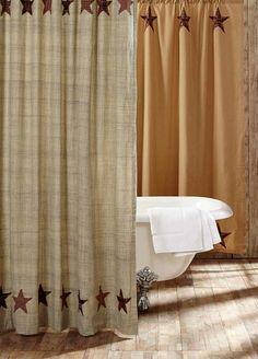 69 x 70 Shower Curtain Kess InHouse Angie Turner Gray Barn Brown Blue
