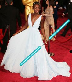 My personal reaction to Lupita Nyong'o and Game of Thrones' Gwendoline Christie being cast in Star Wars: Episode VII was along the lines of SHADKSHIUAGDSCHI. Maz Kanata, Lupita Nyongo, Mary Sue, The Force Is Strong, Love Stars, I Got This, High Fashion, Fangirl, Star Wars