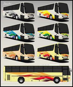 Bus Livery Design by pantranco_bus, via Flickr
