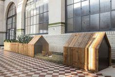 Urban chicken coop with kitchen garden planter DAILY NEEDS Cassecroute