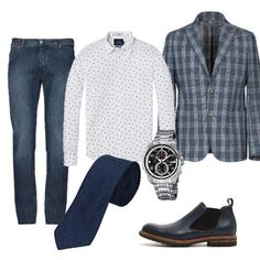 Casual #4964 Gentleman, Polyvore, Outfits, Ideas, Style, Fashion, Italia, Clothes, Moda