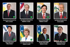 Blog dos Librianos: Impeachment: confira como votaram os 8 senadores l...