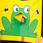 anasınıfı konuşan kurbağa kartı