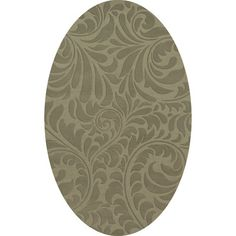 Dalyn Rug Co. Bella Gray Area Rug Rug Size: Oval 3' x 5'