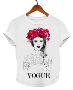 VOGUE FASHION BEAUTY TSHIRT kids and adults sizes
