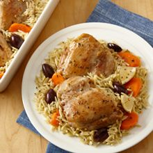 Lemon chicken and orzo is a family-favorite one-pot meal. It's quick to make and even faster to clean up.