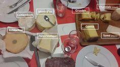 Quelques fromages français. Délicieux! À table ! #delicieux