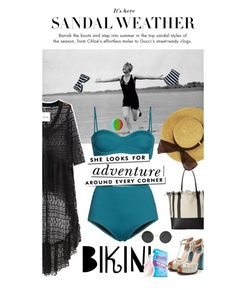 """She looks for adventure around every corner"" by no-where-girl ❤ liked on Polyvore featuring Chicnova Fashion, Retrò, Fendi, Loeffler Randall, Bliss and Kate Spade"