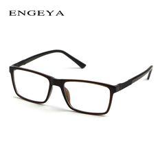 ENGEYA TR90 Retro Clear Glasses Frame Optical Myopia Spectacles High Quality Eyelasses Frames Men  #IP2011#