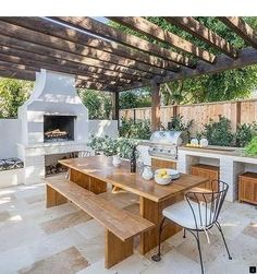If you are looking for Outdoor Kitchens Pergola, You come to the right place. Here are the Outdoor Kitchens Pergola. This post about Outdoor Kitchens Pergola wa. Outdoor Kitchen Patio, Outdoor Kitchen Design, Outdoor Rooms, Outdoor Decor, Deck Patio, Outdoor Cooking Area, Outdoor Ideas, Rustic Outdoor Kitchens, Farmhouse Outdoor Cooking