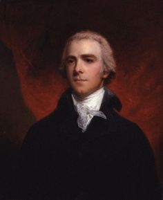 William Wyndham Grenville, 1st Baron Grenville (1759-1834) by John Hoppner, 1800. Pitt's cousin and close ally, Grenville served as both Home Secretary and Foreign Secretary under him. He became Prime Minister for a short period after Pitt's death.