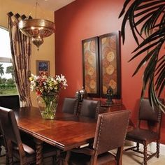 Mediterainian Wall Colors Design Ideas, Pictures, Remodel, and Decor