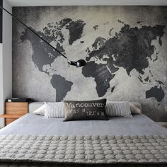 industrial bedroom design ideas pictures remodel and decor - Cool Wallpaper Designs For Bedroom