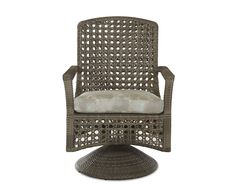 Klaussner Outdoor Outdoor/Patio Amure Swivel Rocking Dining Chair W1300 SRDC - Klaussner Outdoor - Asheboro, NC