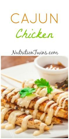 Cajun Chicken | Only 119 Calories | Moist,Lip-Smacking Good |For MORE RECIPES like this & Fitness & Nutrition tips please SIGN UP for our FREE NEWSLETTER www.NutritionTwins.com