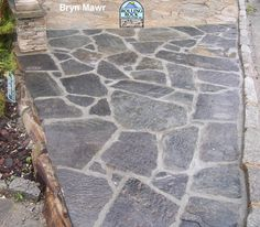 Cheap Irregular Flagstone Patio With Mortar For Flagstone