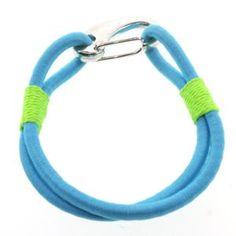 8 Inch Blue Bungee Stretch Cord Bracelet w/ Easy Clasp Cord Bracelets, Bracelet Set, Diy Jewelry, Beaded Jewelry, Jewelry Ideas, Bracelets With Meaning, Bungee Cord, Friendship Bracelets, Gemstones