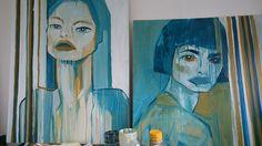 Goddesses Goddesses, Creatures, Painting, Art, Art Background, Painting Art, Kunst, Paintings, Performing Arts