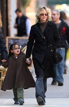 Meg Ryan with daughter Daisy True
