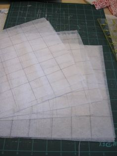 My Postage-Stamp Scrap Fabric Patchwork Quilt | so resourceful