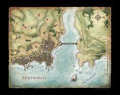 Mistwatch (Artist's Print)
