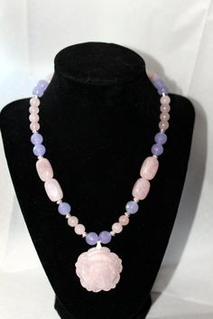 Rose Quartz Alexandrite  Silver Spacer by LINDABJEWELRYDESIGNS, $65.00