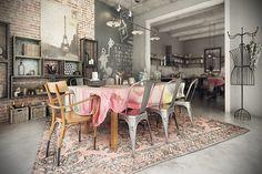 Vintage - Industrial house! on Behance