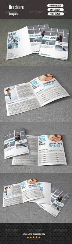 Bifold Brochure-Dance Studio Dance studio, Brochures and - studio brochure