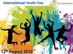 Celebrating International Youth Day by Jeni Construction