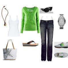 casual, created by jackieslp.polyvore.com