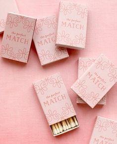 Wedding Matchboxes