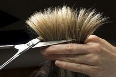 If it's on Pinterest, it must be okay. Right?   How to Cut Your Own Hair Step by Step Guide