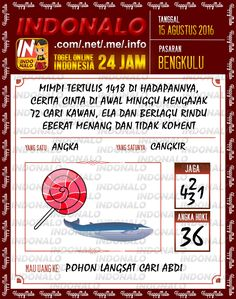 Prediksi Togel Online Live Draw 4D Indonalo Bengkulu 15 Agustus 2016