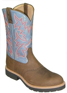 Twisted X Men's 12 Inch Cowboy Work Pull On Boot Style: MSC0002
