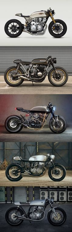 Top 5 Honda CB750 Cafe Racers from Classified Moto, Cognito Moto, Messner Moto, Ace Customs and Auto Fabrica.