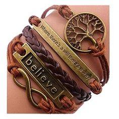 SusenstoneHandmade-Adjustable-Multilayer-Bracelet-Wristband-0