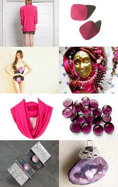 Purple, Pink and Between them.... by XenaStyle on Etsy--Pinned with TreasuryPin.com