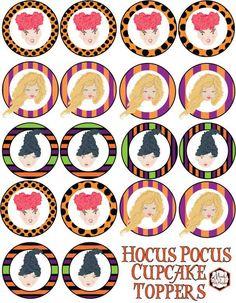 Free Hocus Pocus Party Printables | Mandy's Party Printables