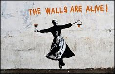 the walls are alive