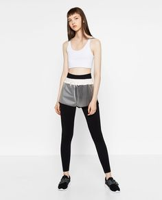 Image 1 of TRANSPARENT SHORTS from Zara