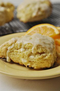 Orange Creamsicle Scones