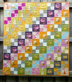 This has been on my to do list for the longest time until I realized that quilting just isn't for me. But still my fave quilt ever.
