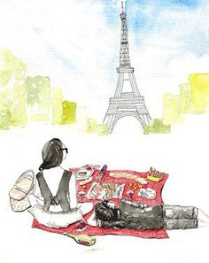 A French picnic is not only a welcome reason for friends to gather and graze, but also an unparalleled celebration of summer. Walking around any park in Paris, a picnic can be scoped out by a collective mélange of nosh spread across a patchwork of blankets, grazing adults at all levels of repose, all surrounded