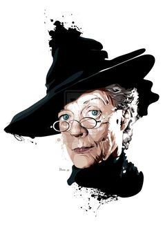 Minerva McGonagall by hansbrown-77.deviantart.com on @deviantART